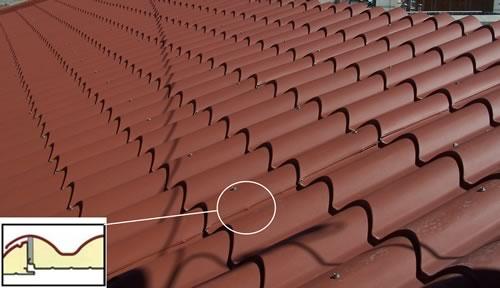 paneles teja para edificios y naves